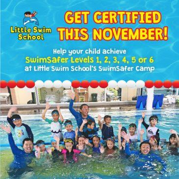 SwimSafer Prep Camp from 27 – 29 Nov 2017