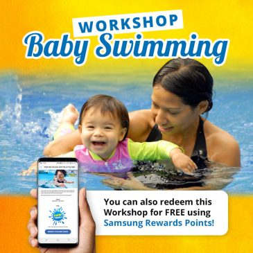 Baby Swimming Workshop – 25 or 26 October