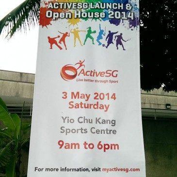 ActiveSG Open House – Yio Chu Kang Swimming Complex (3 May 2014)