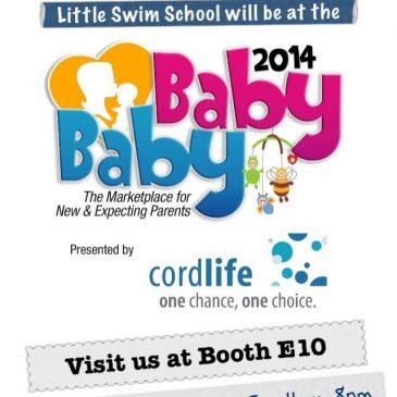 Baby Baby 2014 Exhibition with Little Swim School!